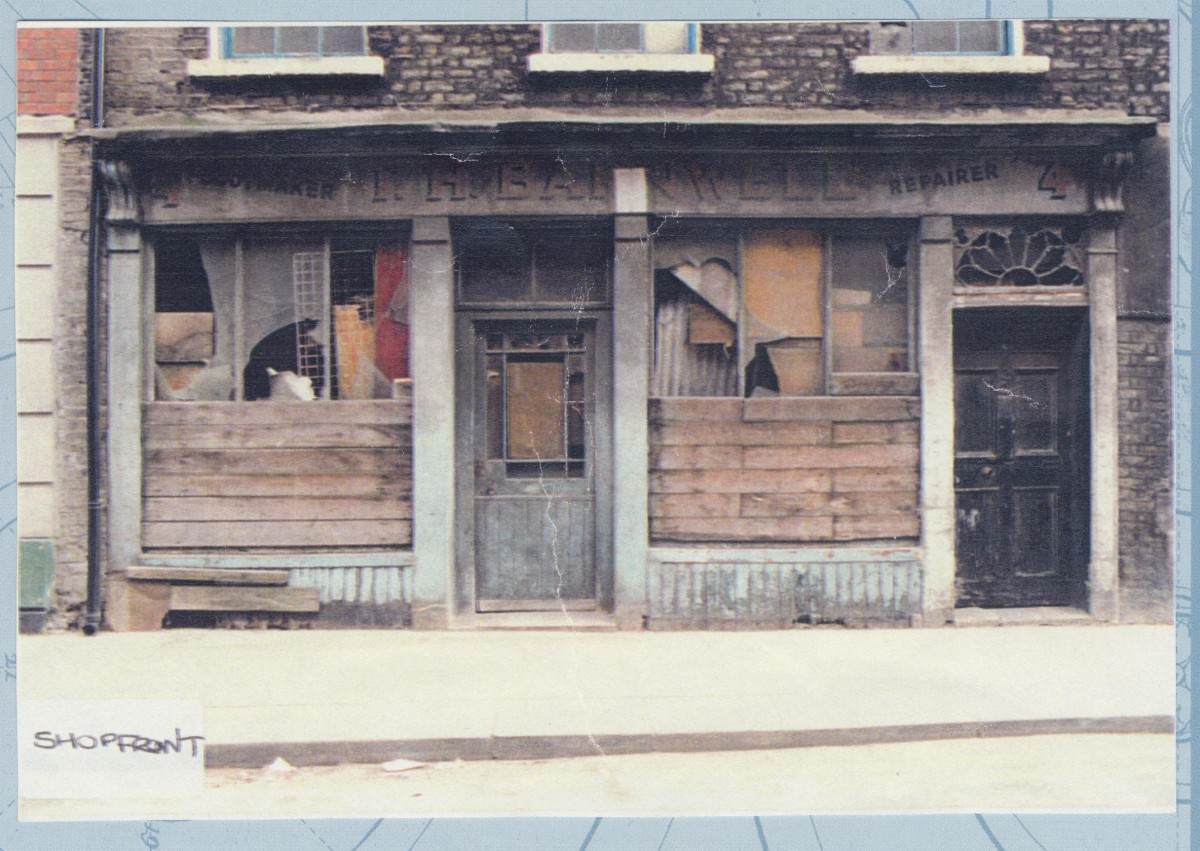 Shopfront in the 1990s