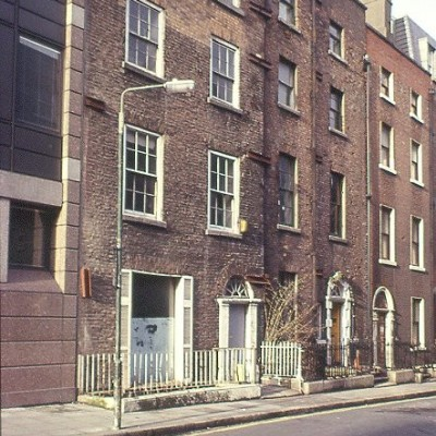 South Frederick Street in the early 1990s